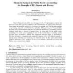 Pdf) Financial Analysis In Public Sector Accounting: An with Credit Analysis Report Template