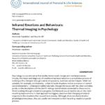 Pdf) Infrared Emotions And Behaviors: Thermal Imaging In Regarding Thermal Imaging Report Template