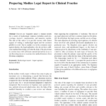 Pdf) Preparing Medico Legal Report In Clinical Practice pertaining to Medical Legal Report Template