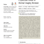 Pdf) Reporting Of Thermography Parameters In Biology: A Regarding Thermal Imaging Report Template