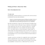 Pdf) Writing And Music: Album Liner Notes regarding Cd Liner Notes Template Word