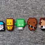 Perler Bead Patterns Without Black – Bead Pattern (Free) With Blank Perler Bead Template