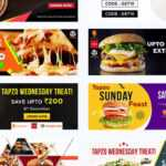 Photoshop Free Download – Food Banner Templates For Facebook Regarding Food Banner Template