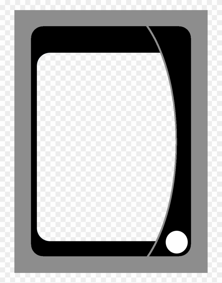Playing Card Template Png – Uno Card Blanks Clipart Within Blank Playing Card Template