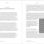 Professional Looking Book Template For Word, Free – Used To Tech Regarding How To Create A Book Template In Word