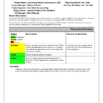 Replacethis] Monthly Status Report Template Format And Throughout Training Report Template Format