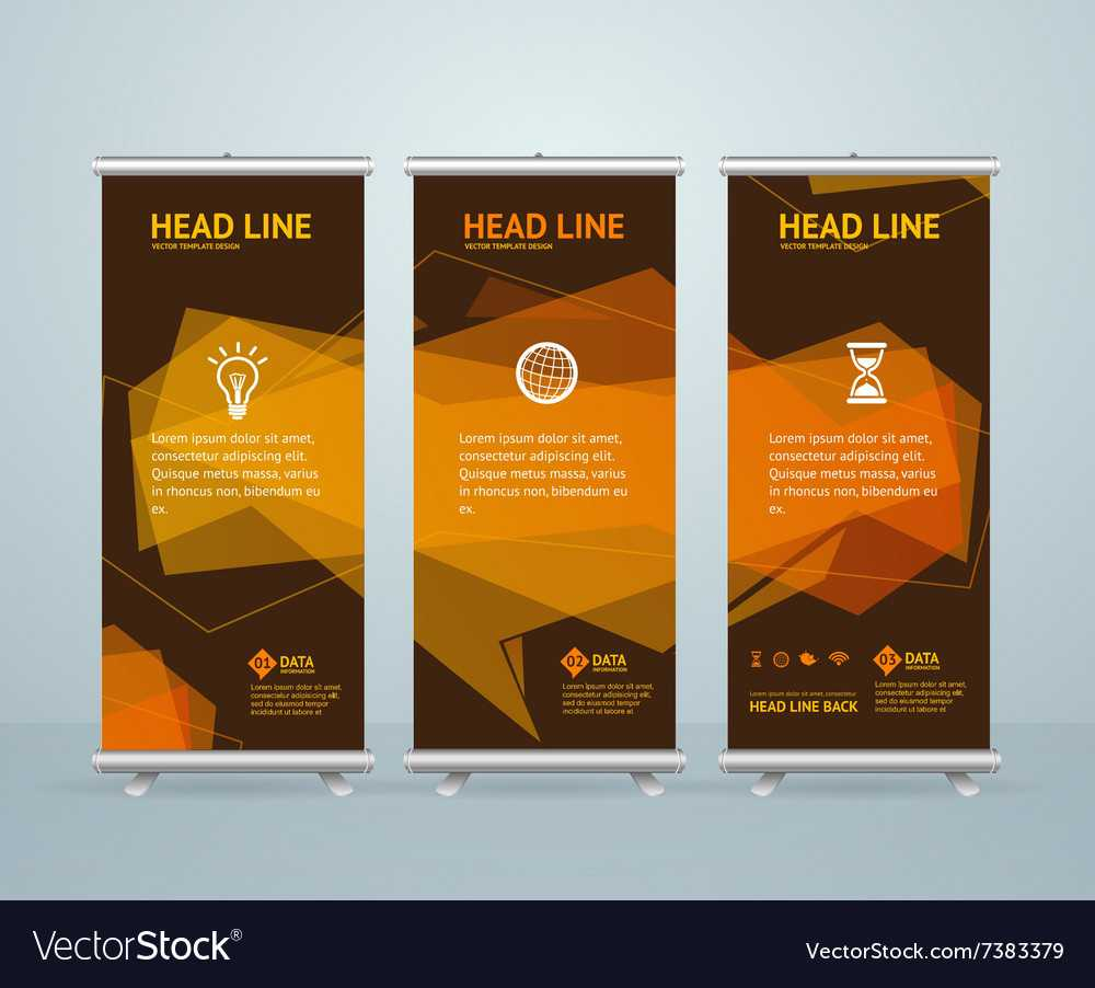 Roll Up Banner Stand Design Template With Regard To Pop Up Banner Design Template