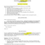 Sample Annual Report Template Type School's Mission Here Inside Summary Annual Report Template