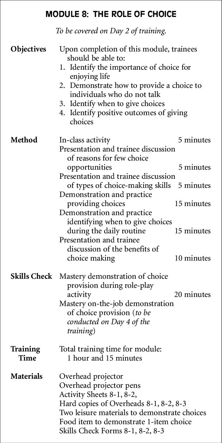 Sample Module Summary Sheet Summarizing The Training For One Throughout Training Summary Report Template