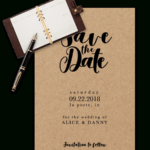 Save The Date Templates For Word [100% Free Download] pertaining to Save The Date Templates Word