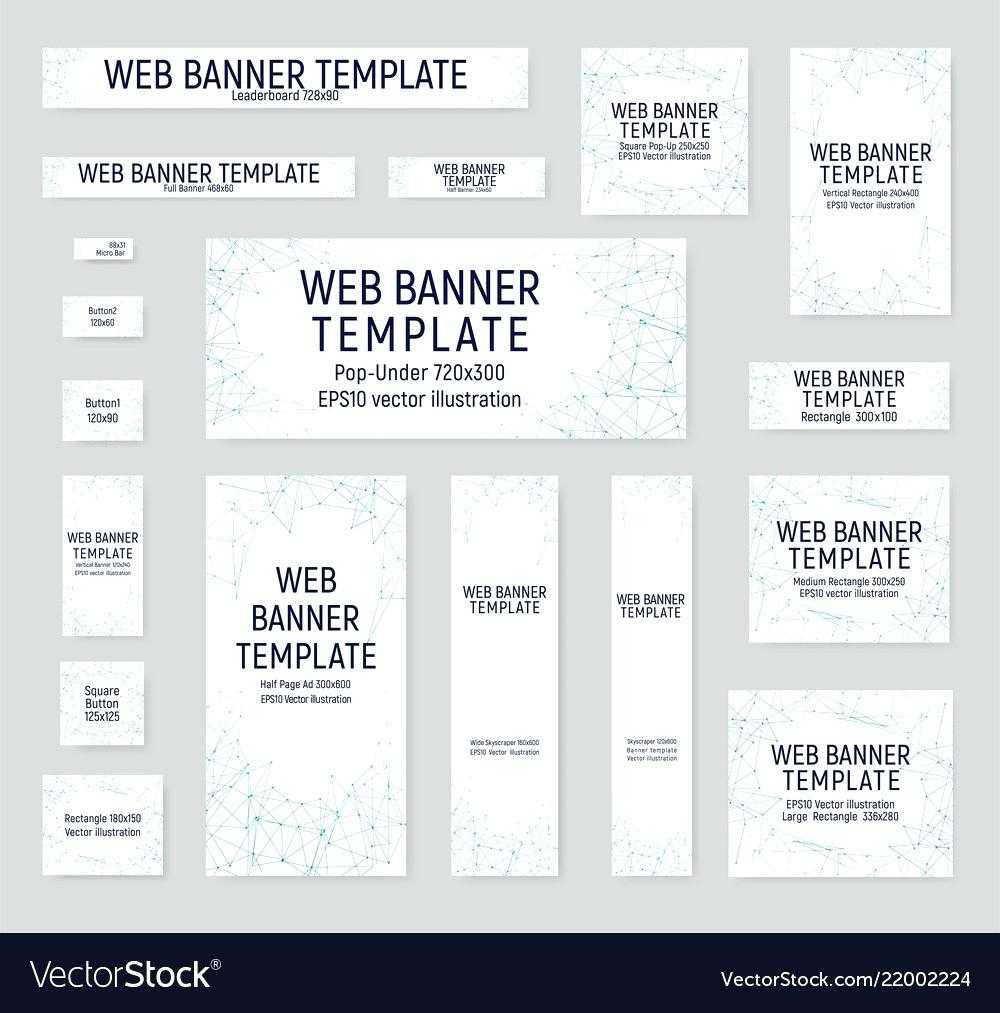 Set Of Banners 468×60 Banner Template For Resignation Letter Within Letter Templates For Banners
