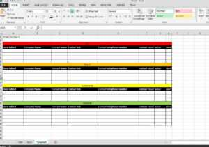 Spreadsheet Sales Report Template Excel Collections Monthly regarding Excel Sales Report Template Free Download