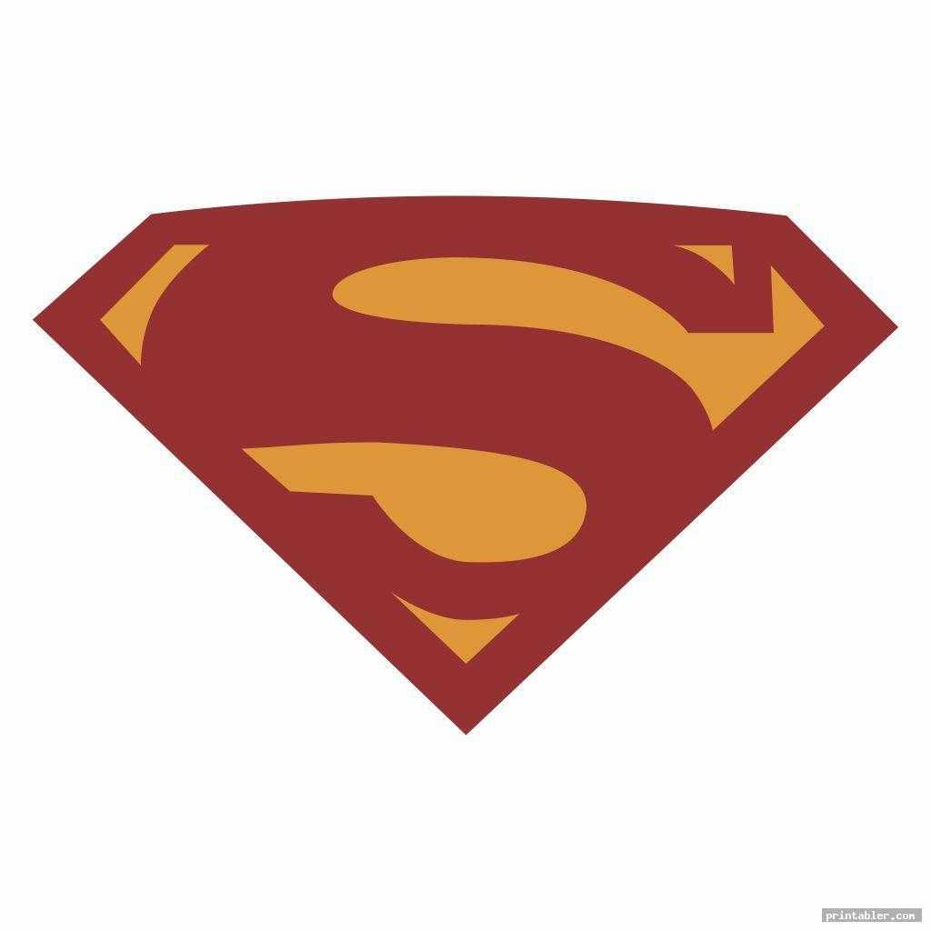 Superman Logo Template Printable – Printabler With Blank Superman Logo Template