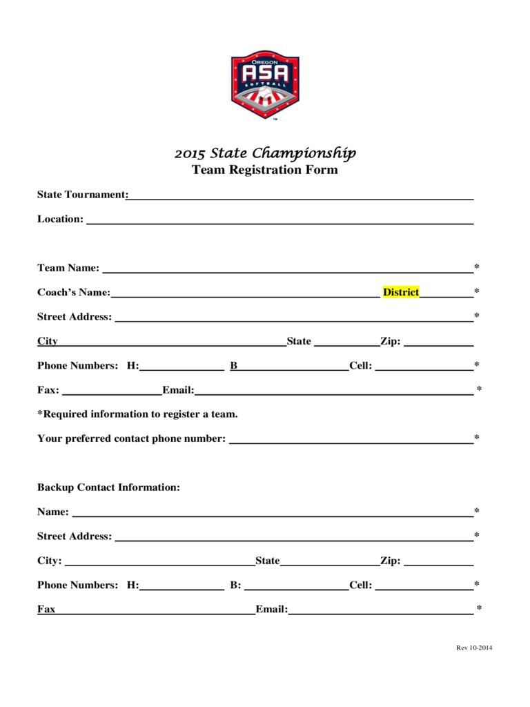 Team Registration Form – 2 Free Templates In Pdf, Word With Registration Form Template Word Free
