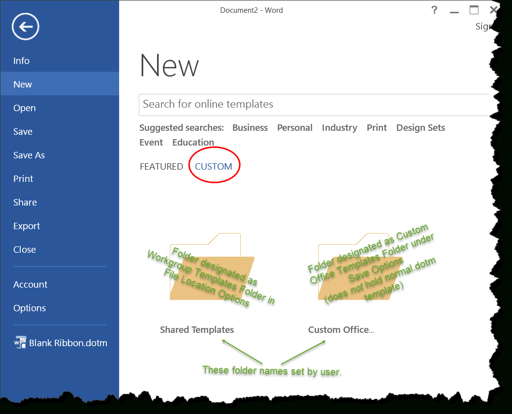 Templates In Microsoft Word – One Of The Tutorials In The Intended For Word 2010 Templates And Add Ins