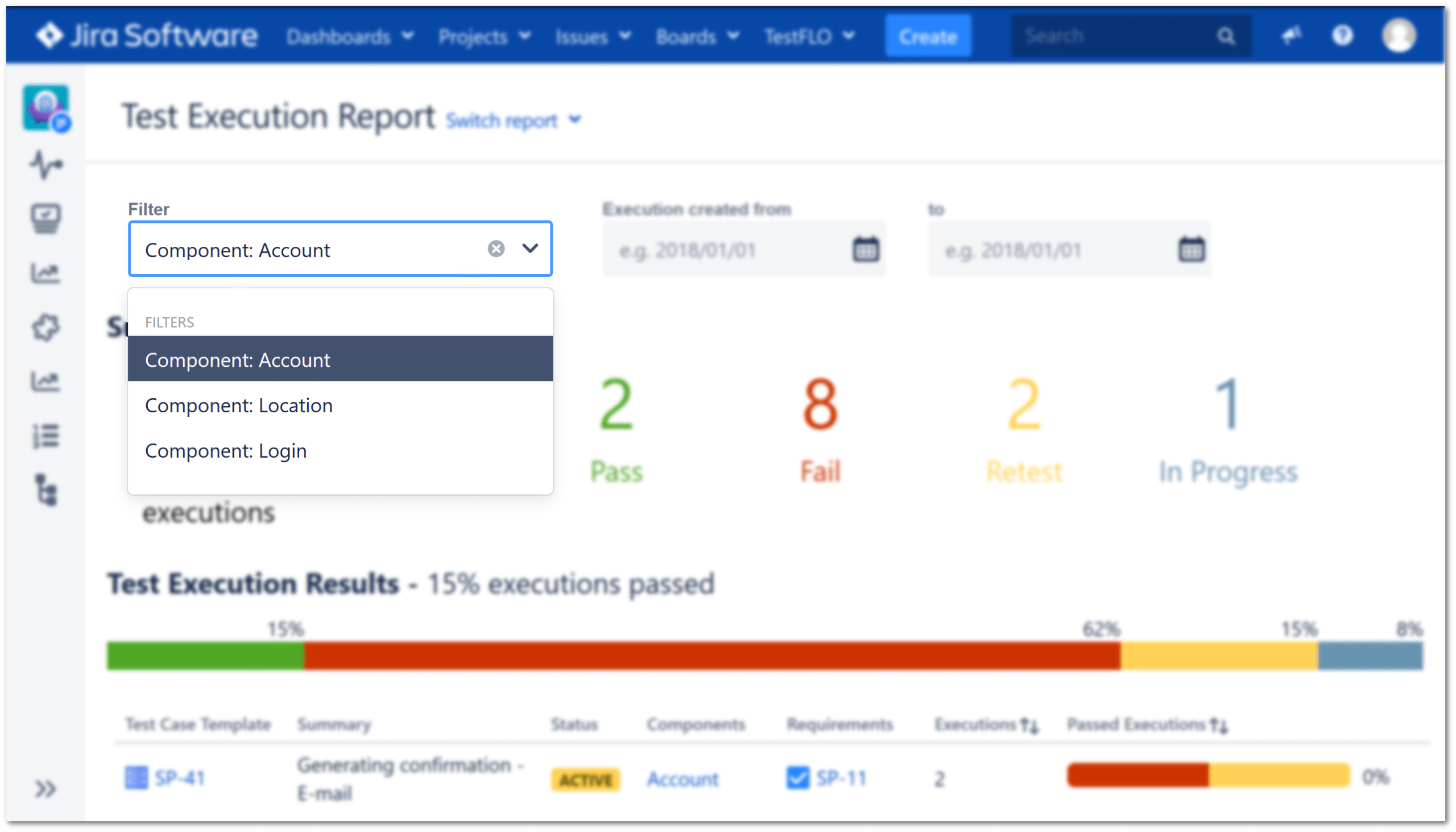 Test Execution Report With Regard To Test Case Execution Report Template
