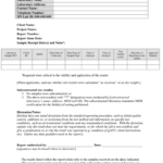 Test Report (Final Report To Client) Template (Word: 41Kb/1 Pertaining To Test Result Report Template