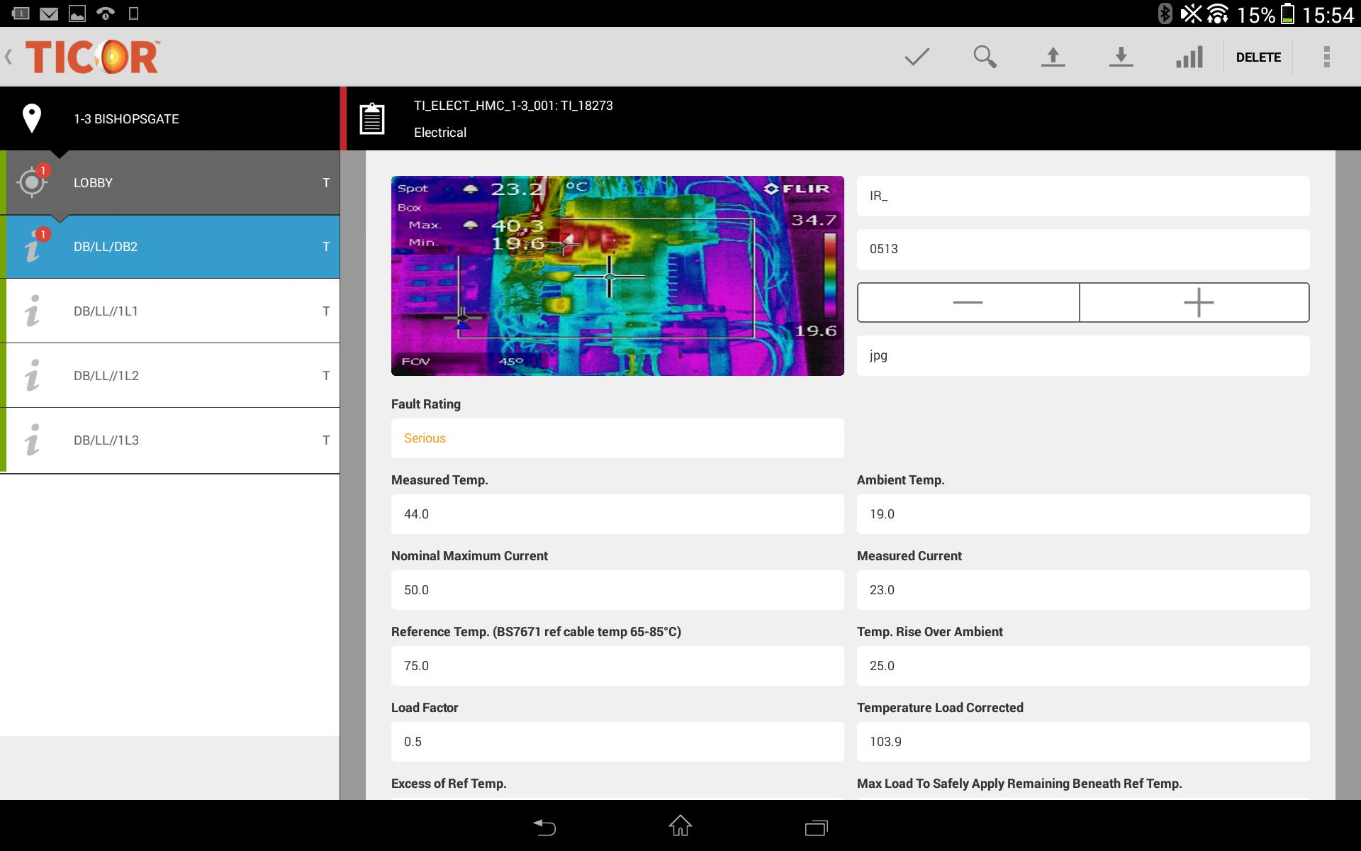 Thermal Imaging Software - Ticor In Thermal Imaging Report Template