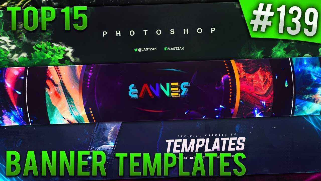 Top 15 Photoshop Banner Templates #139 (Free Download) Inside Banner Template For Photoshop