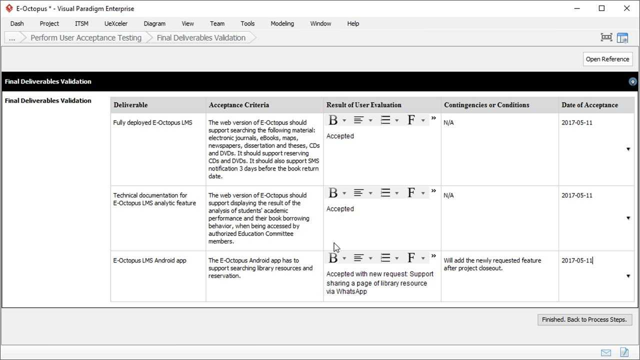 User Acceptance Report Template - Project Management Intended For User Acceptance Testing Feedback Report Template